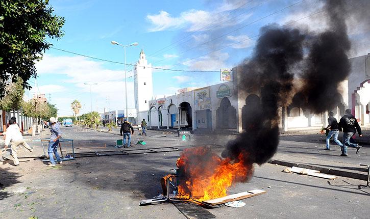 احتجاجات تونس 2