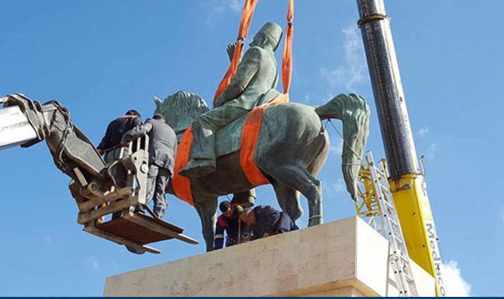 تمثال الزعيم