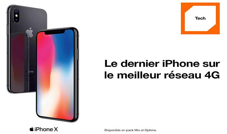 أورنج تونس تشرع في تسويق الهاتف الذكي Iphone X  - أنباء تونس