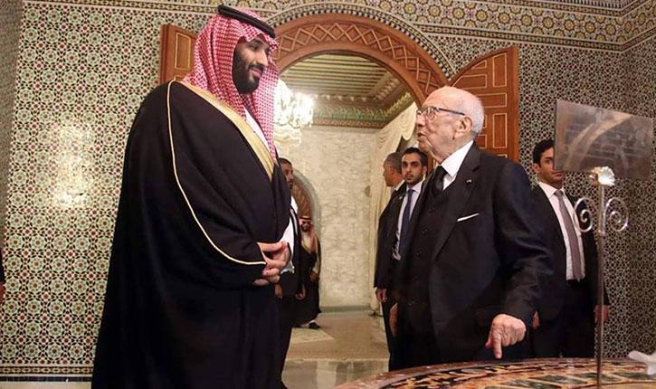وفق ا لمجلة جون أفريك هذا ثمن زيارة ولي العهد السعودي محمد بن