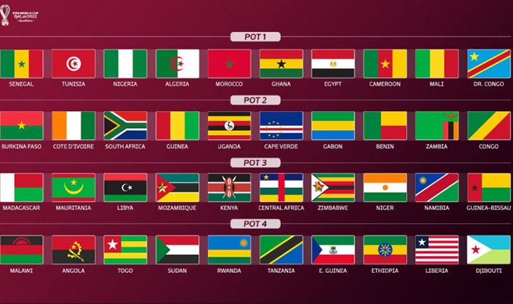 تصفيات كأس العالم قطر 2022 تونس في المستوى الأول أنباء تونس